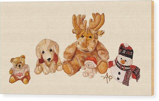 Snowy Patrol Wood Print