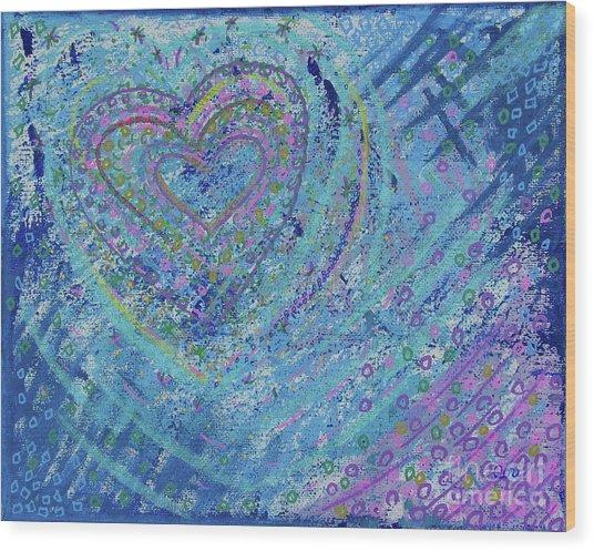 Soft Heart Wood Print