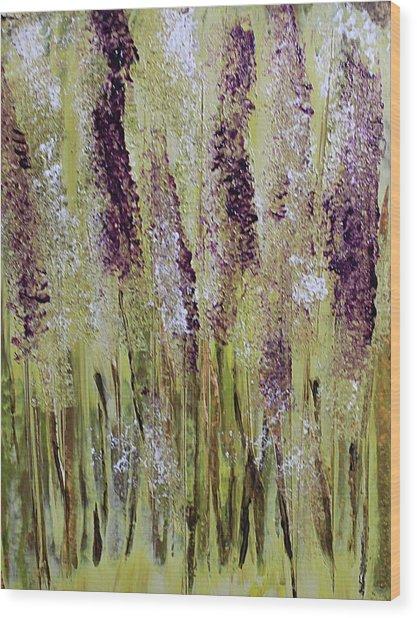 Softly Swaying Wood Print