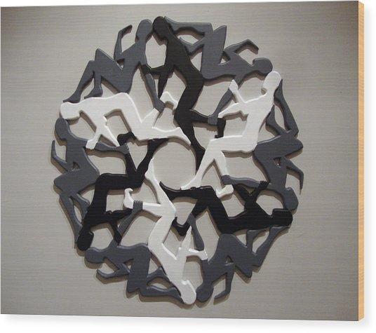 Sol 6 Wood Print