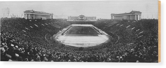 Soldier Field, Chicago, Illinois, Circa Wood Print