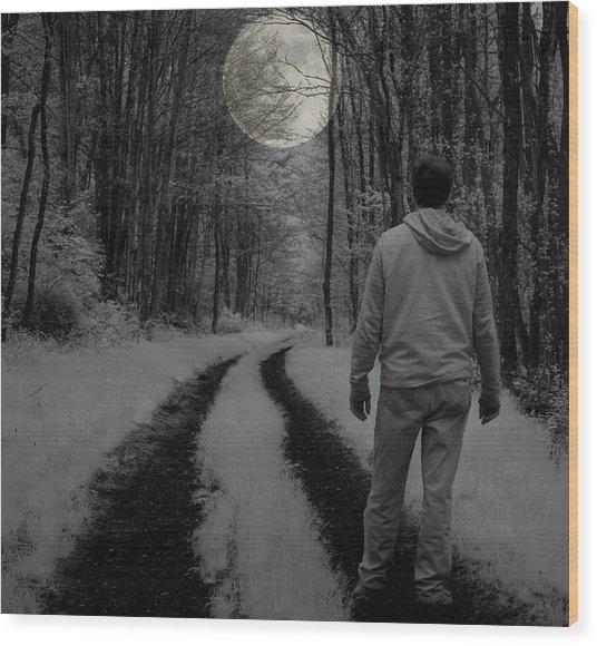 Soliloquy Wood Print