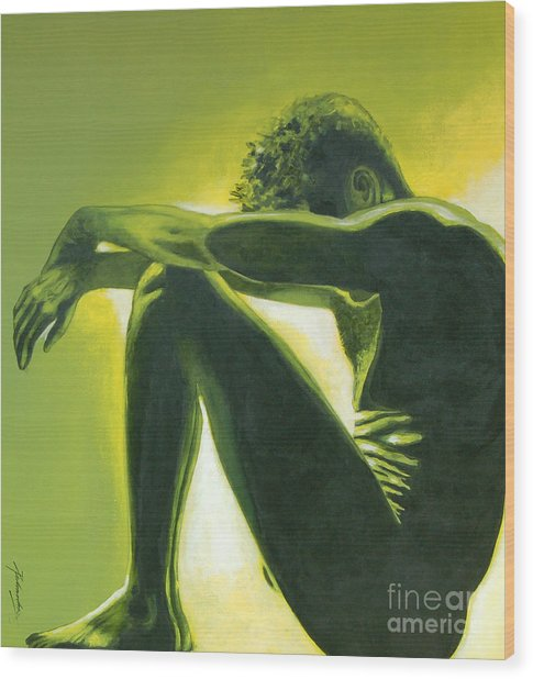 Soliloquy Wood Print by Padmakar Kappagantula