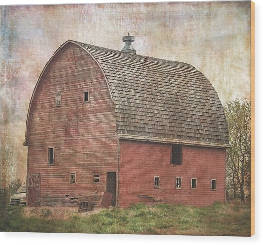 Someplace In Time Wood Print