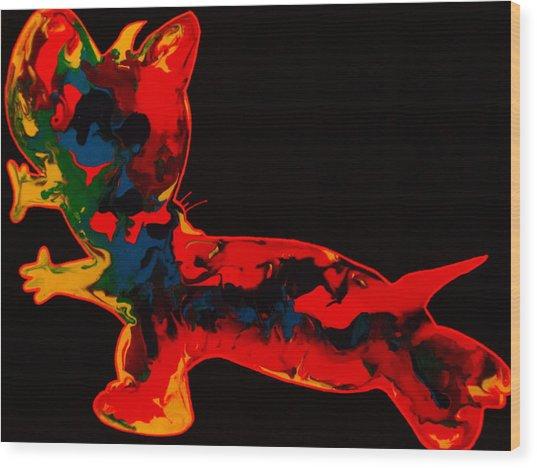 Sonar Wood Print