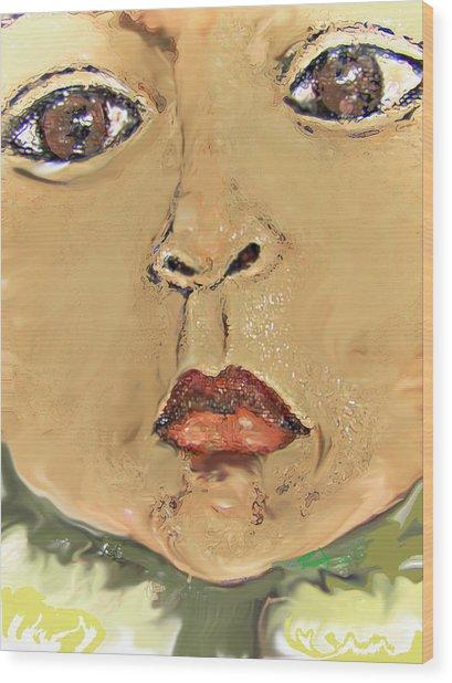 Sonflower Wood Print by Noredin Morgan