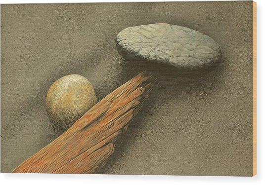 Song For Raymond Carver Wood Print