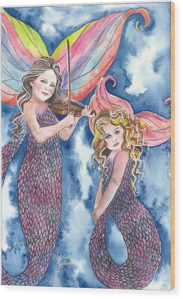 Song Of The Sirens Wood Print