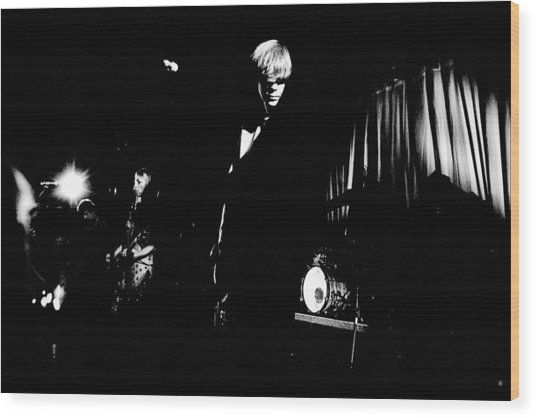 Sonic Youth At Showbox Seattle  Wood Print