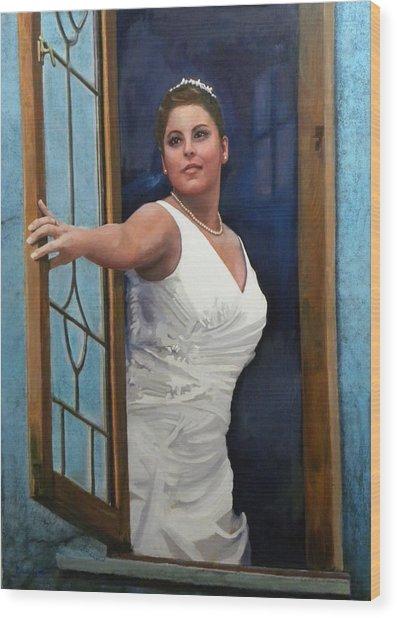Sonja Wood Print