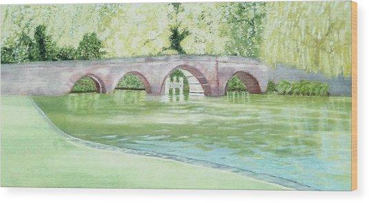 Sonning Bridge  Wood Print