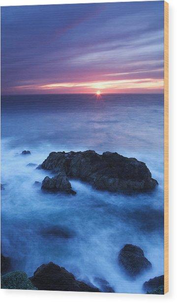 Sonoma Sunset Wood Print by Eric Foltz