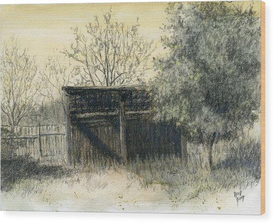 Soon Forgotten Wood Print