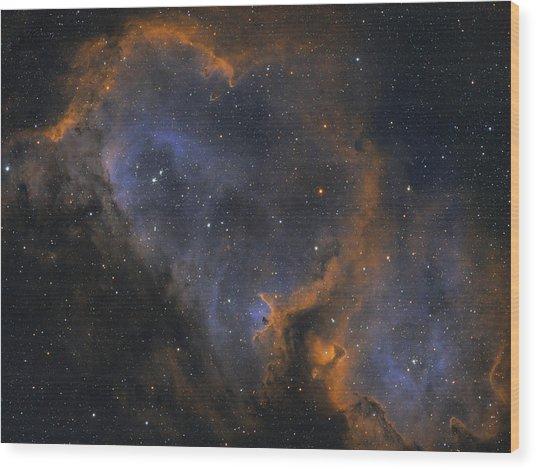 Soul Nebula Wood Print