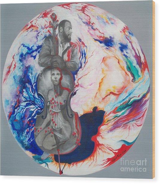 Blaa Kattproduksjoner             Soul Seduction Wood Print