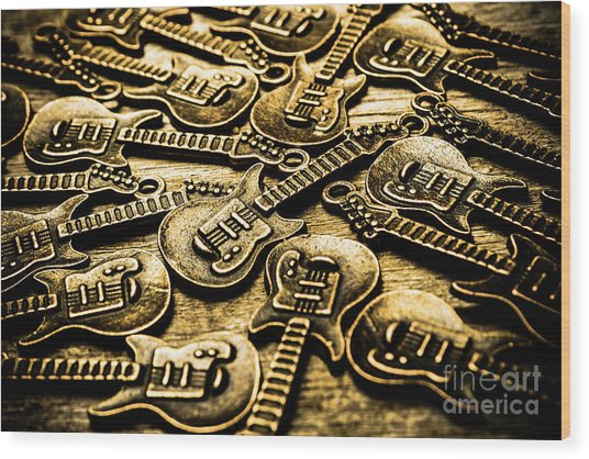 Sounds Of Country And Western Music Wood Print