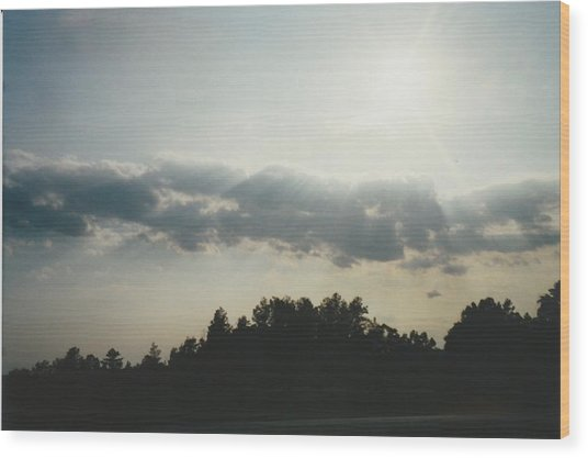 South Carolina Sunrise Wood Print by Gene Linder