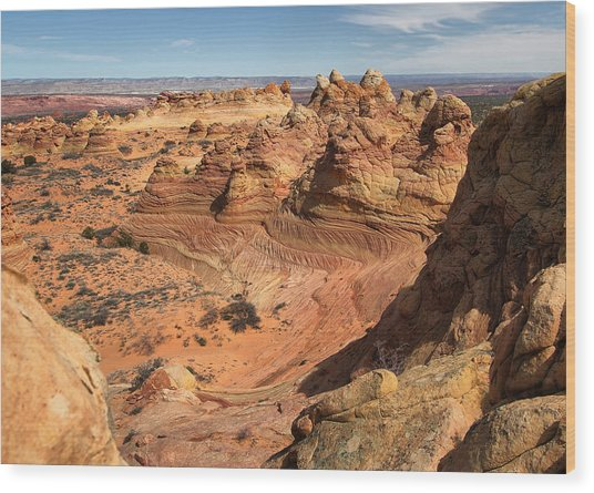 South Coyote Buttes Wood Print