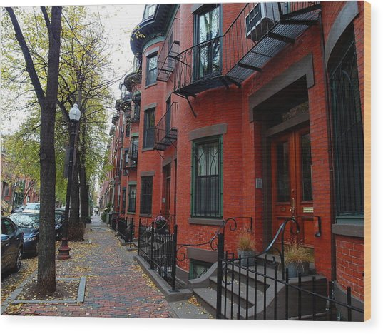 South End - Boston Wood Print