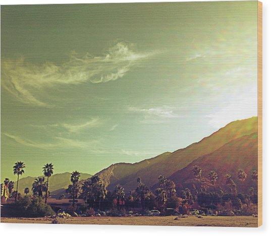 South Palm Springs California Wood Print