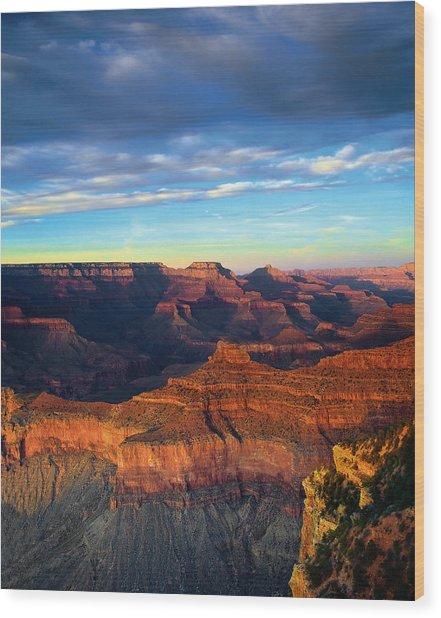 South Rim Grand Canyon Wood Print