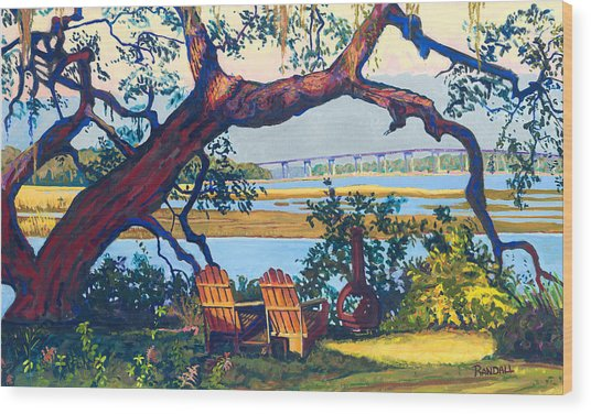 Southern Adirondacks Wood Print