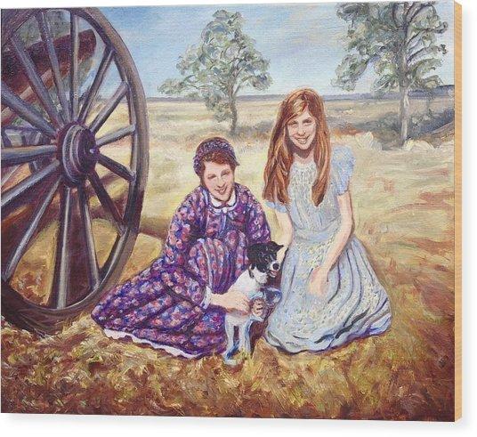Southern Belles Wood Print