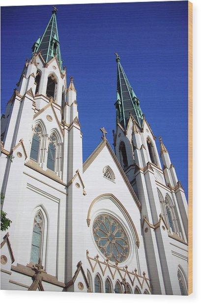 Southern Church Wood Print