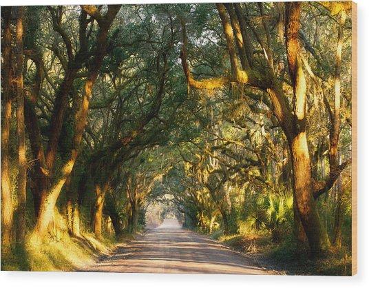Southern Comfort Wood Print