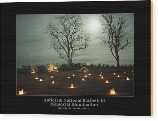 Southern Encampment 90 Wood Print