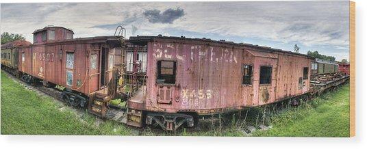 Southern Railroad Wood Print