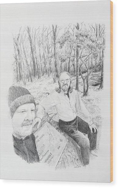 Southern Terminus  Wood Print