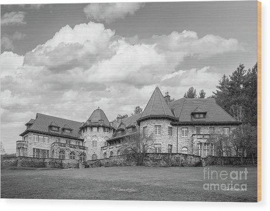 Southern Vermont College Everett Mansion Wood Print