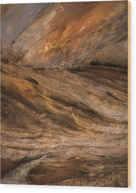 Southwest Abstract Wood Print by Joseph Smith