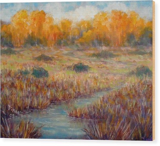 Southwest Autumn Wood Print