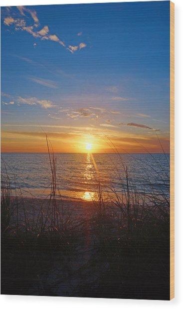 Southwest Florida Sunset Wood Print
