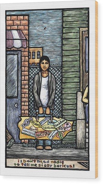 Soy Boricua Wood Print by Ricardo Levins Morales