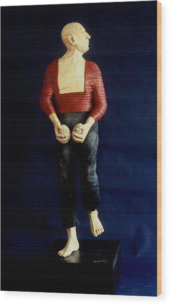 Spanish Dancer Wood Print by Gordon Becker