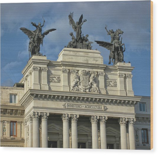 Spanish Ministry Wood Print by JAMART Photography