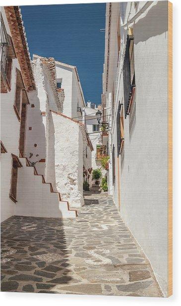 Spanish Street 1 Wood Print
