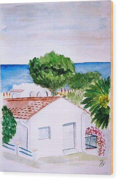 Spanish Vacation Wood Print