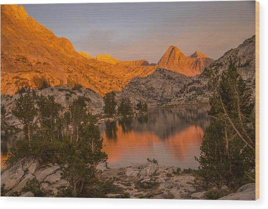 Spectacular Sunset Wood Print