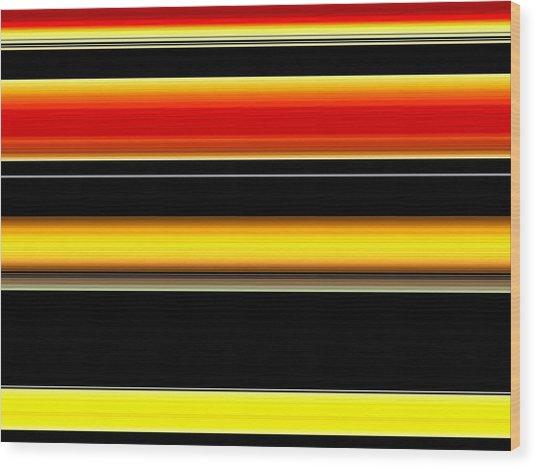 Spectra 10112 Wood Print by Chuck Landskroner