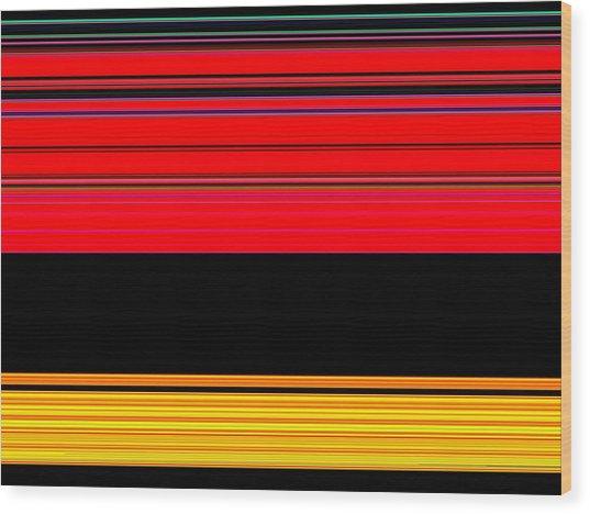 Spectra 10132 Wood Print by Chuck Landskroner