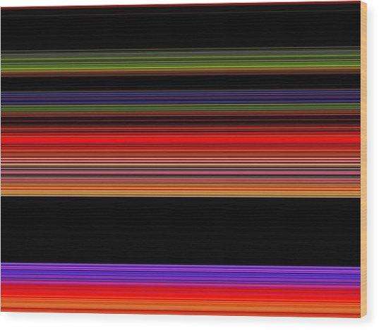 Spectra 10145 Wood Print by Chuck Landskroner