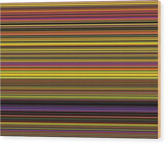Spectra 10148 Wood Print by Chuck Landskroner