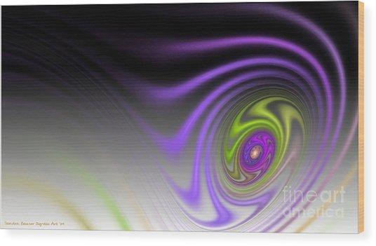 Speed Wood Print by Sandra Bauser Digital Art