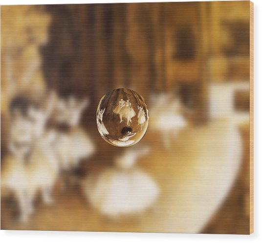 Sphere 15 Degas Wood Print