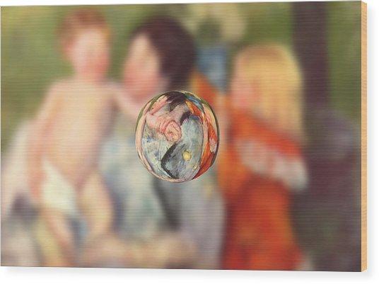 Sphere II Cassatt Wood Print