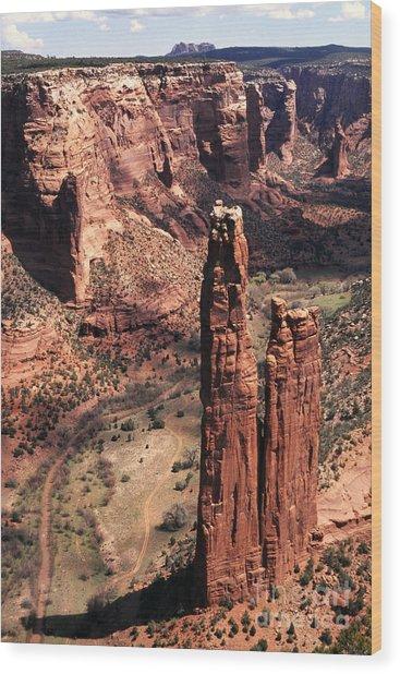 Spider Rock 2 Wood Print